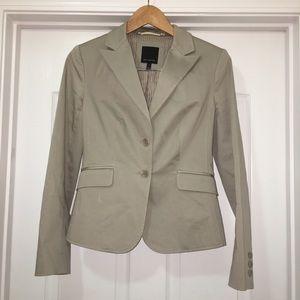 Limited Tan Light Brown Jacket Blazer Size 6